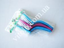 Щетка для посуды с ручкой(3шт)15,5смVT6-14103(240)
