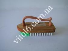 Щетка утюжок деревянный  14 см VT6-14115 (240шт)