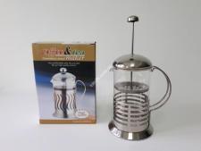 Чайник-заварник нерж Полоса  800мл VT6-14585(24шт)