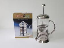 Чайник-заварник нерж Полоса 1000мл VT6-14586(24шт)