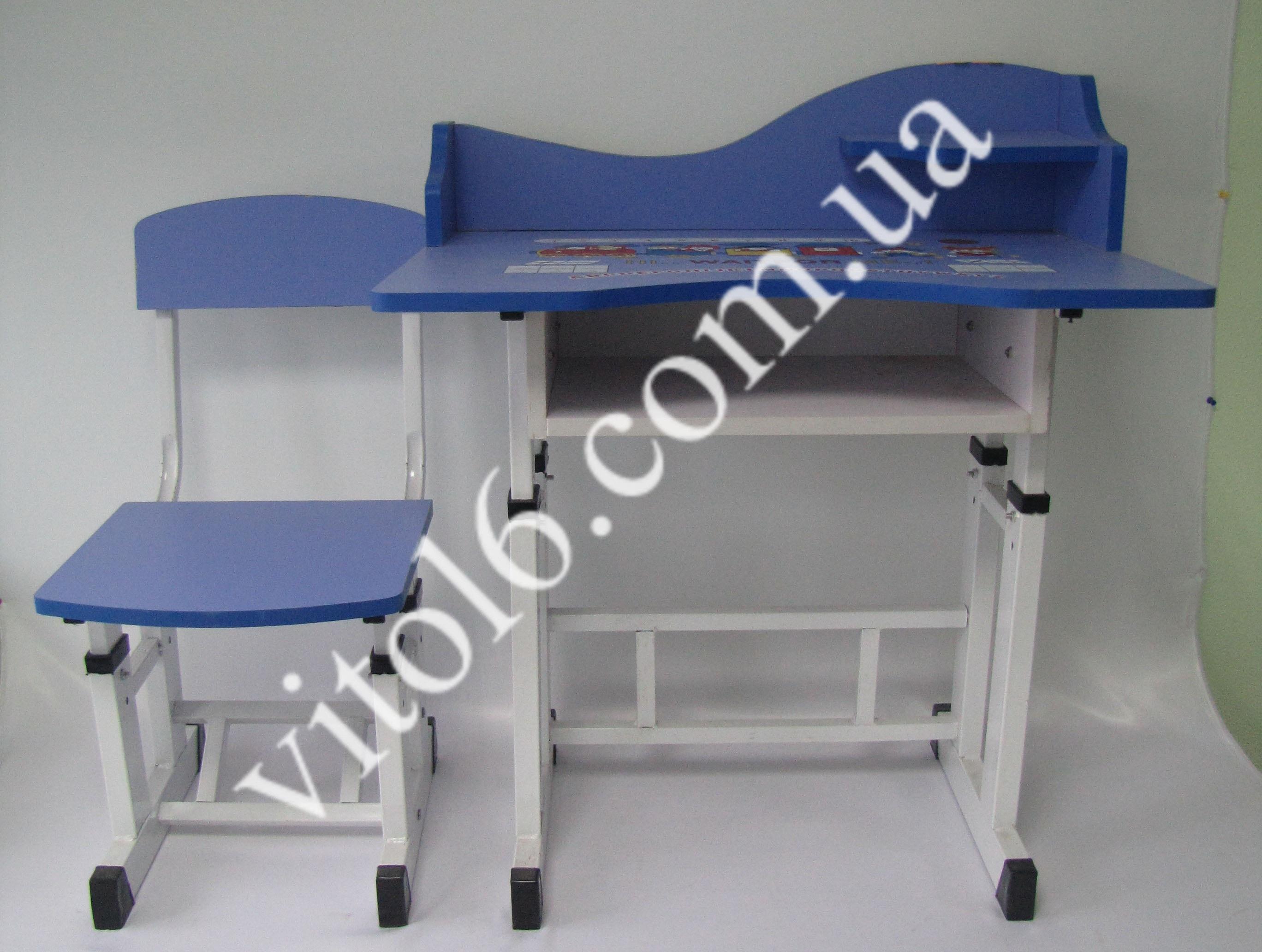 Парта+стул синяя  VT6-14673(1шт)
