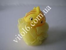 Мочалка детская(Рыбка,лягушка)20шт/упVT6-14501(200