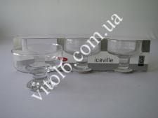 Креманка для морожен. Айсвиль из 3-х 41116 (8шт)