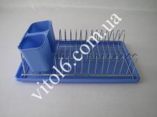 Сушилка нерж для тарелок с л/в39*21,5VT6-14369(24)