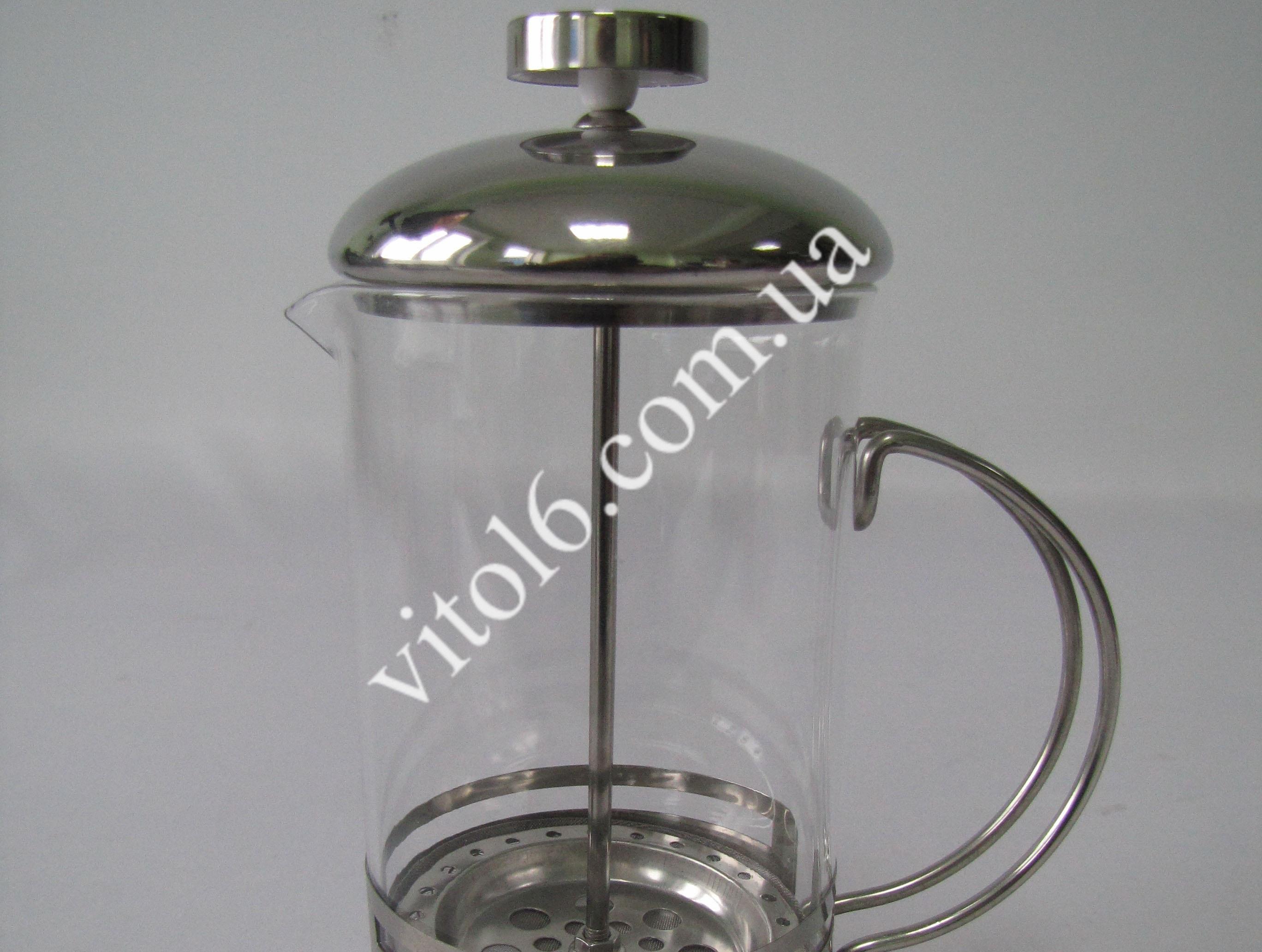 Чайник-заварник нерж Полоса 600млVT6-14584(40шт)