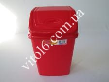 Ведро мусорное  №1 Senyayla 4175 4,2л (24шт)