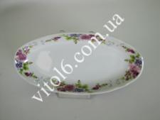 Блюдо №10  Венеция  овал глубокое 6624 (36шт)
