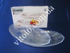 Тарелка  Атлантис из 2-х овал  15х24см 10238 (6шт)