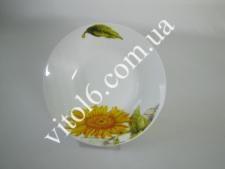 Тарілка  Соняшник  глибока №8  5705 (72 шт)