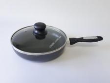 Сковорода AMY FRY PAN 22см  XJ-FP-22 с крышкой  (12 шт)