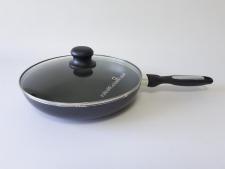 Сковорода AMY FRY PAN 26см  XJ-FP-26 с крышкой (12 шт)