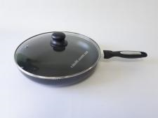 Сковорода AMY FRY PAN 28см  XJ-FP-28 с крышкой  (12 шт)