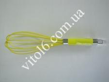 Венчик силиконовый 30см(3цвета) VT6-14754(288шт)