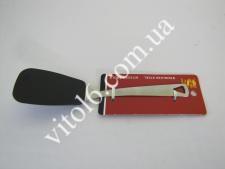 Тефлон лопатка с метал ручкой21смVT6-14730(268)