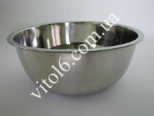Миска нерж глуб в/с 24 см  2,4л VT6-14330-1(80шт)