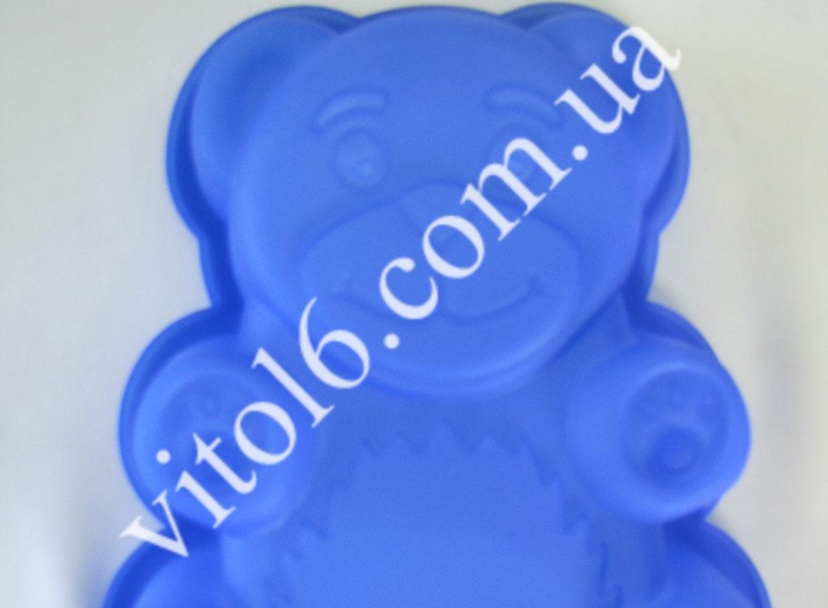 Форма силик. Мишка  18,5*16*4VT6-14695(300шт)
