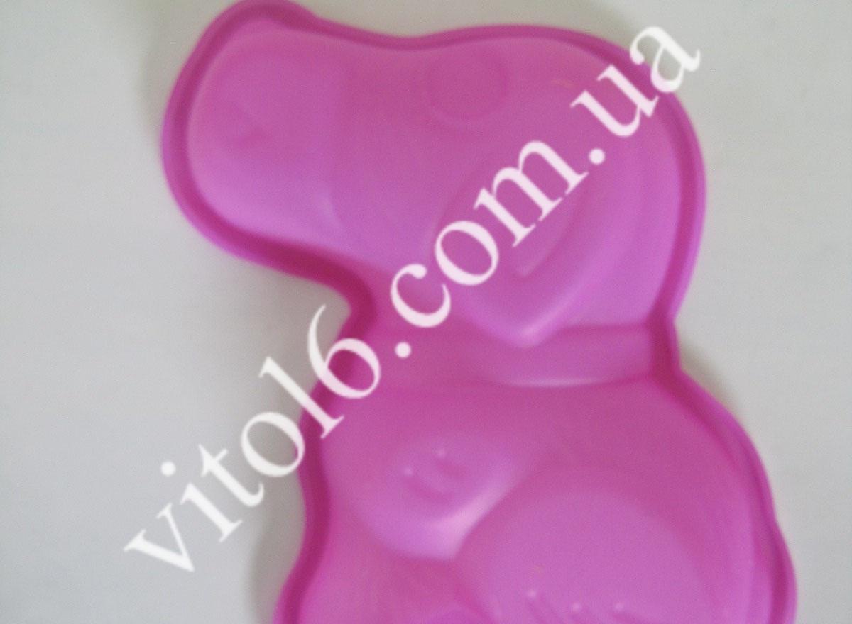 Форма силiк.  Щеня  16*11 VT6-14731 (500шт)