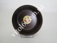 Салатник шоколад  №6 15см  С (6шт)  (36 шт)
