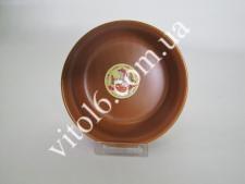 Салатник глина  №6  15 см В Brown (6шт) (36 шт)