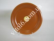 Тарелка мелкая  глина  №10,5  26,7см В (4)  (24 )