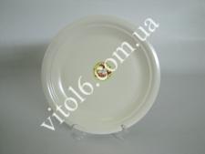 Тарілка мілка  крем   №10,5   26,7 см М(4)(24 шт)