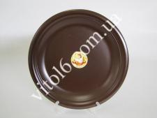 Тарелка мелкая  шоколад № 10,5 26,7 см С(4)(24 шт)