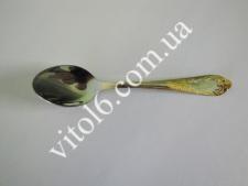086G  Золото  Ложка чайная 1,5мм (576 шт)