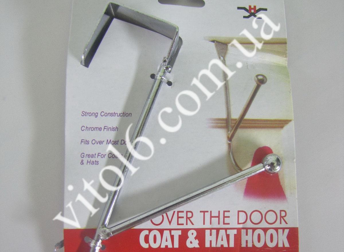 Крючок металл дверной навесной  VT6-15082(240шт)