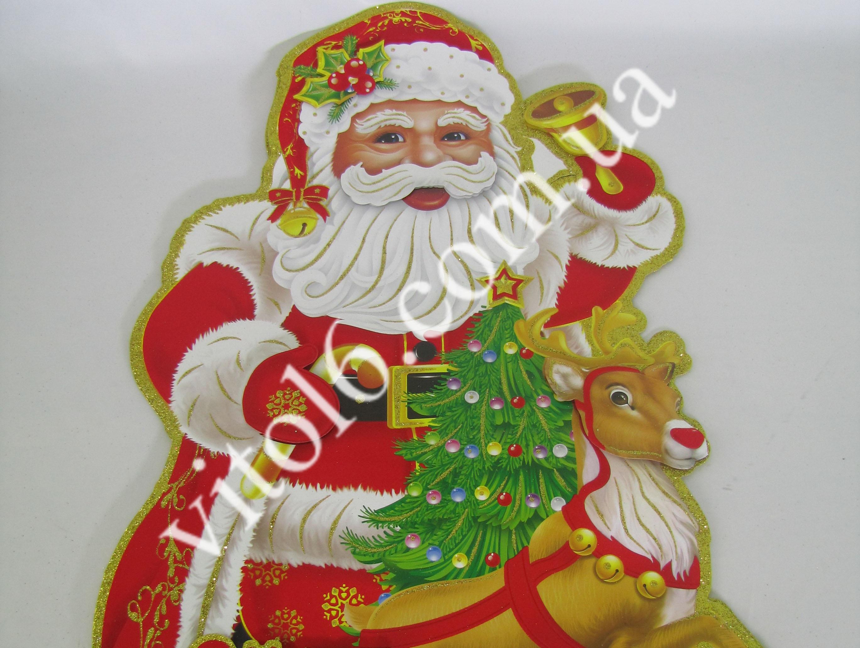 Композиция картонная Дед Мороз VT6-15181(100)