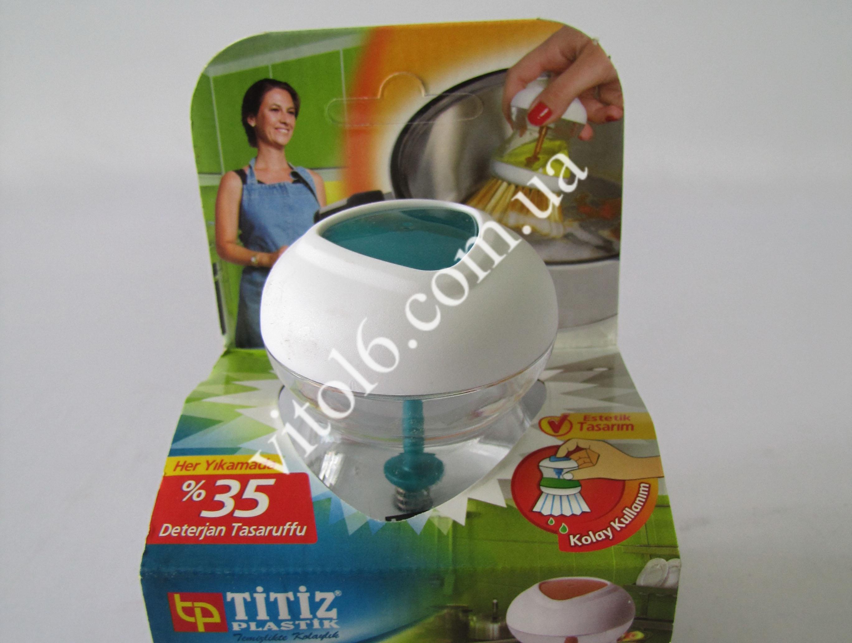 Щетка для посуды с дозатором ТР-110(36шт)