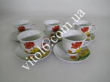 Сервиз чайный  Тюльпаны  7444 (12шт)