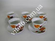 Сервиз чайный  Маки  7445 (12шт)
