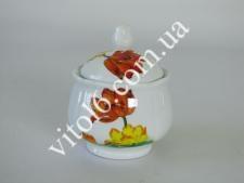 Сахарница керамич.  Тюльпаны  7444 (48 шт)