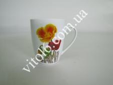 Чашка керам. 340мл  Маки  7445  (72шт)