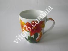 Чашка керам. 340мл  Лилии  7446  (72шт)