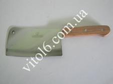 Нож секач с деревянной ручкой 35,5см VT6-15299(36)