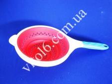 Дуршлаг силиконовый 18*40  VT6-15306(60шт)
