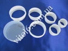 Набор колец пластм из 6ти для гарнираVT6-15322(144