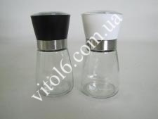 Набір перцемолок стекл.із 2-х (перечниця + сільничка) VT6-15362 (24шт)