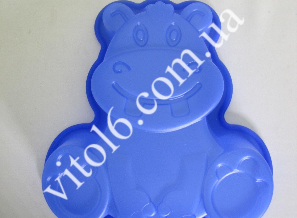 Форма силик. Бегемотик  VT6-15418(240шт)