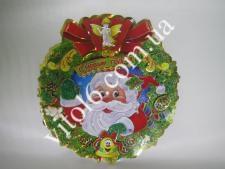 Композиция картонная Дед Мороз  VT6-15587(200шт)