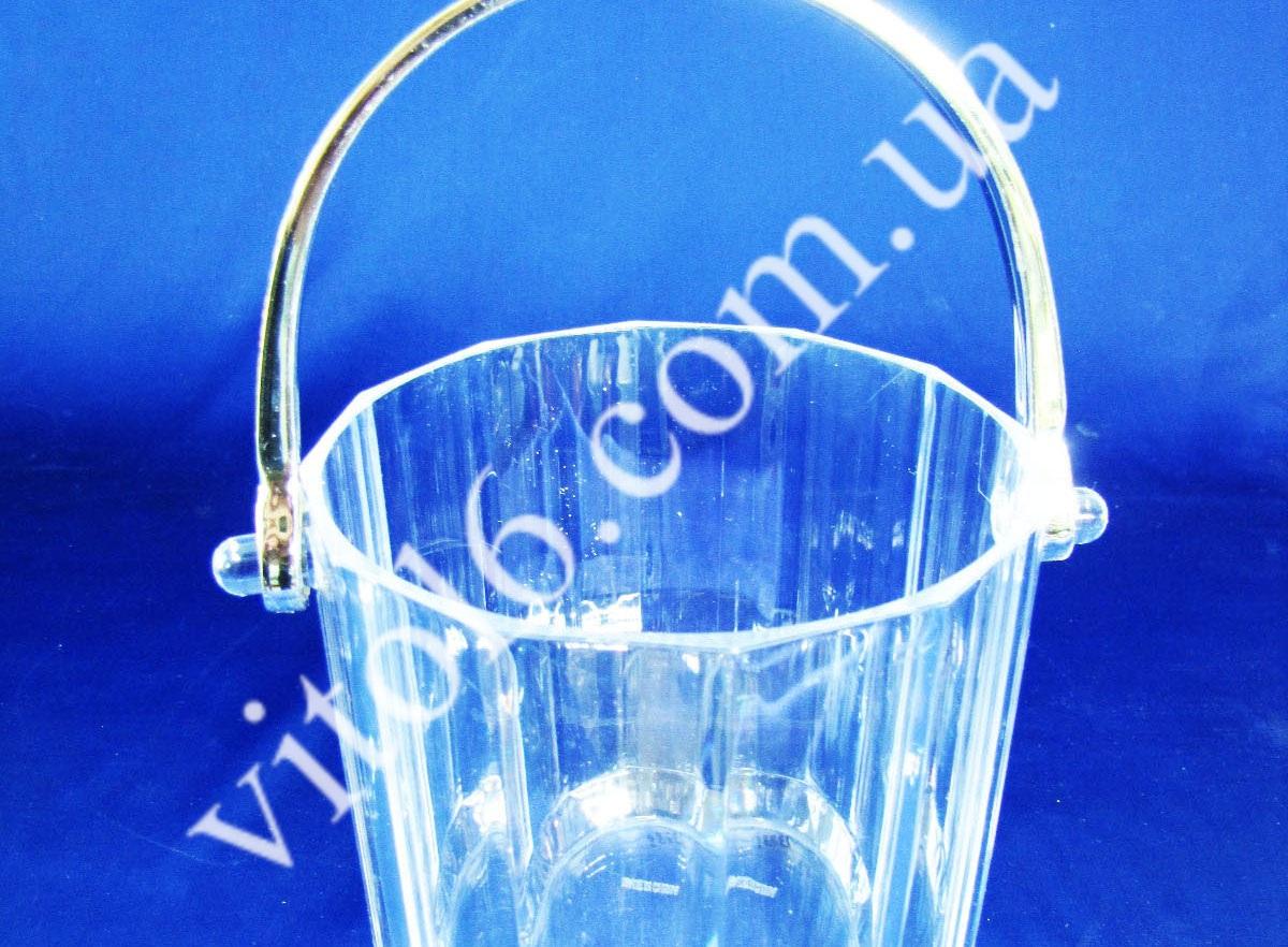 Ведро пластм.для льда 1,2л  VT6-15662  (72шт)