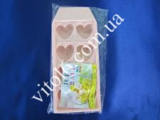 Форма для льда пластм. Сердце VT6-15664(240шт)
