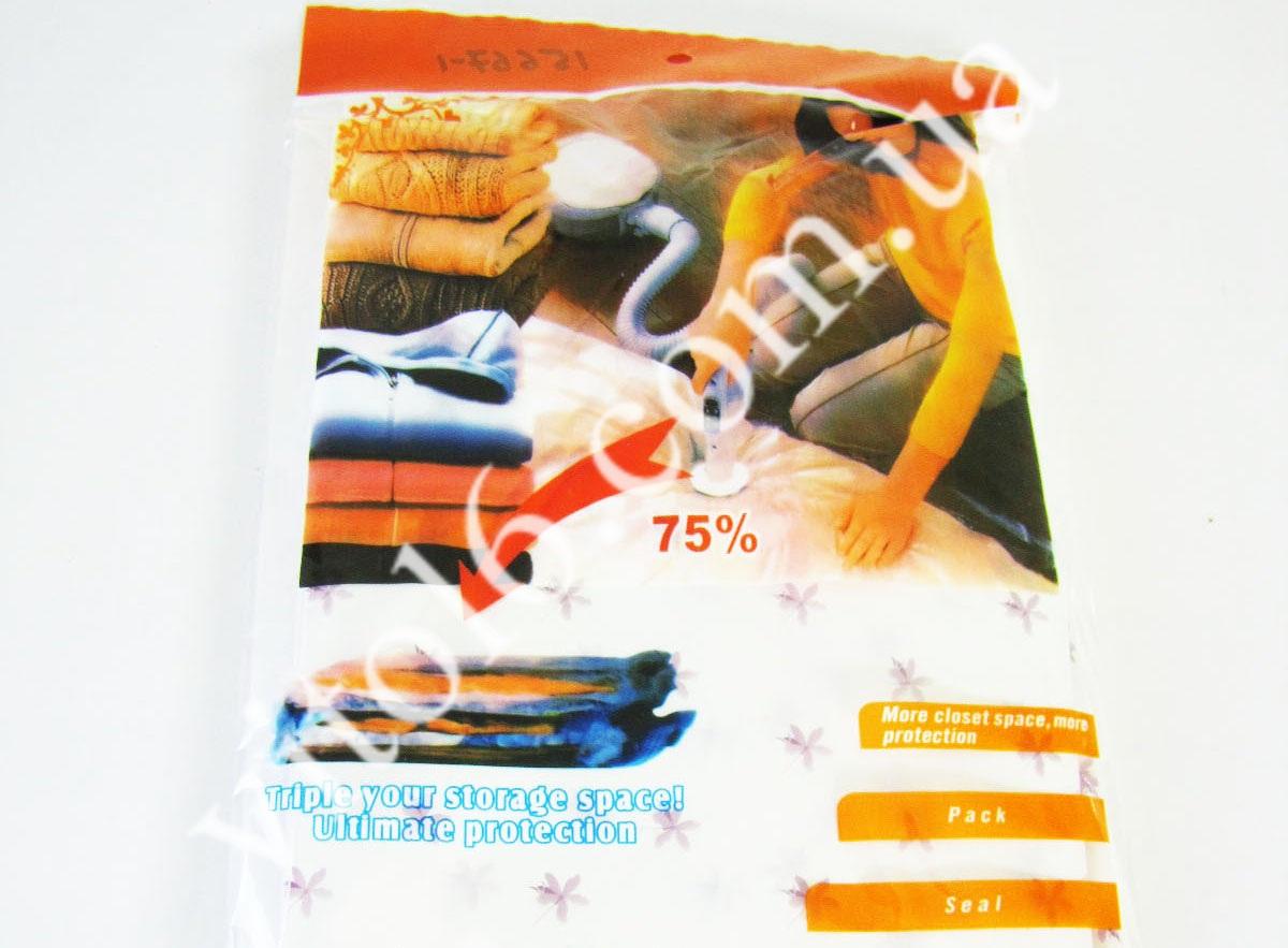 Мешок для одежды вакуумный 80*100VT6-15667-1(144)