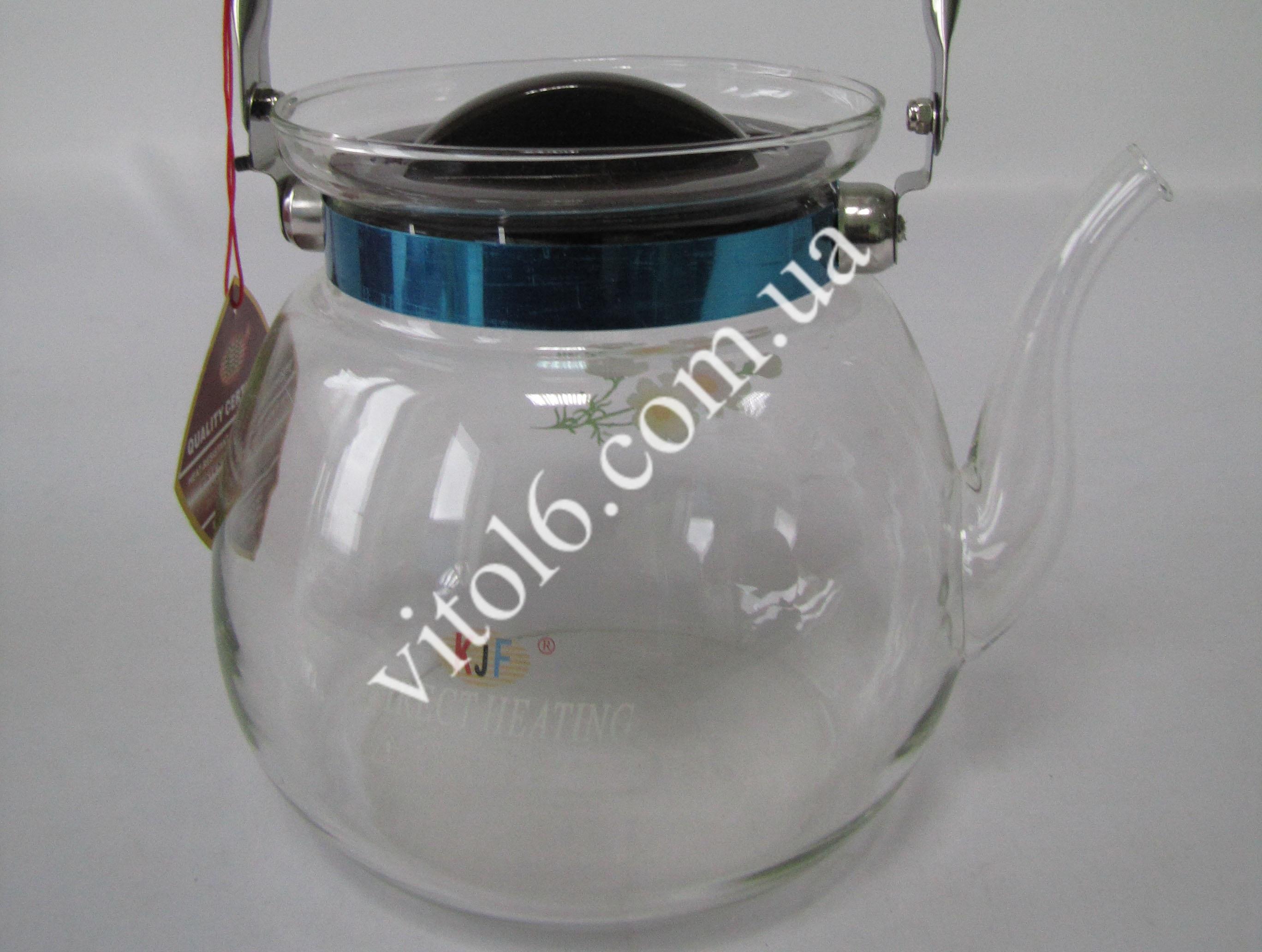 Чайник жаропрочный 2.2л с L6609 R6  КТ11(12шт)