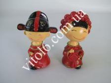 Статуэтка  Китайская парочка    VT6-15733 (96шт)