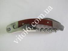 Нож для официанта с деревян.ручкой VT6-15744(240шт