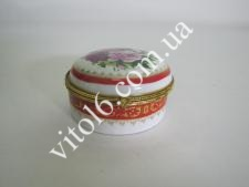 Шкатулка  Круглая  VT6-15605(72шт)