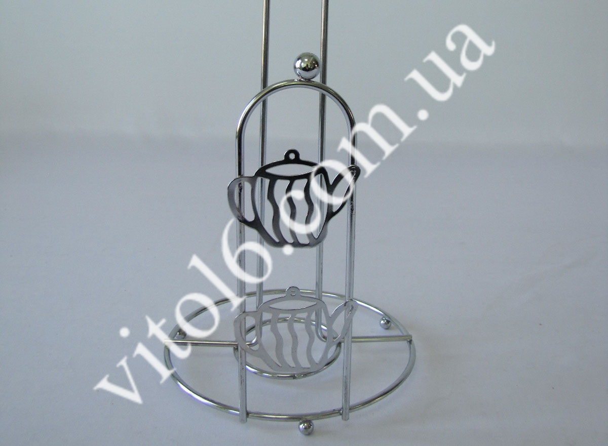 Держатель бумажного полотенца металл VT6-15770(120