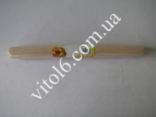 Скалка деревян.цельная О2,5см*28см VT6-15794(350)